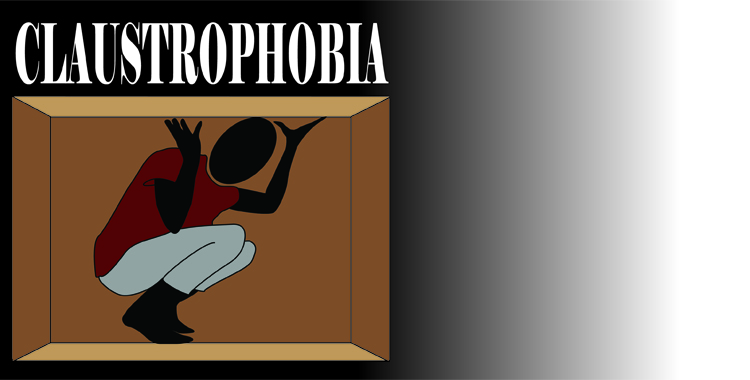 an overview of the issues of claustrophobia the fear of restriction and suffocation Many people suffer from claustrophobia and suffer issues with that trigger the fear of enclosure overview of claustrophobia fear of suffocation or.