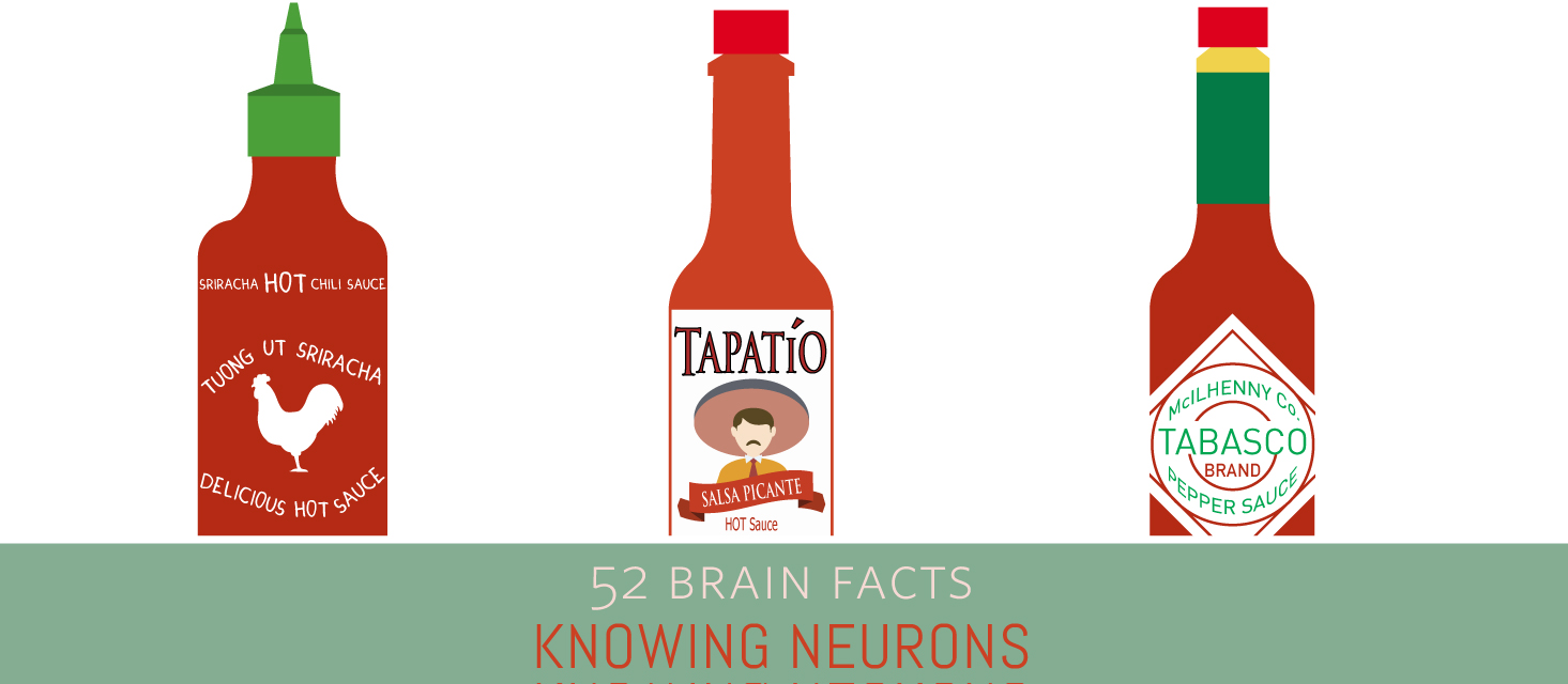 Myth or Fact? Spice receptors on your tongue allow you to taste hot food.